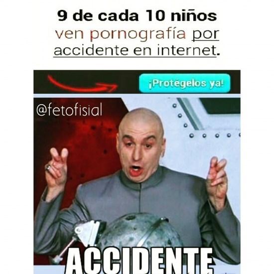 por accidente