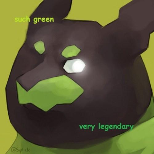 pokemon memes zygarde doge