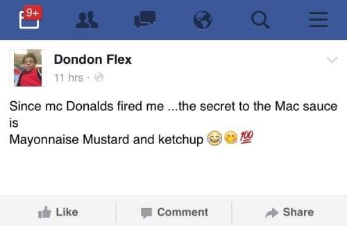 funny memes mcdonalds mac sauce