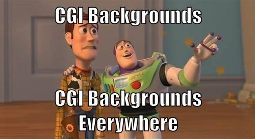 CGI Backgrounds  CGI Backgrounds Everywhere