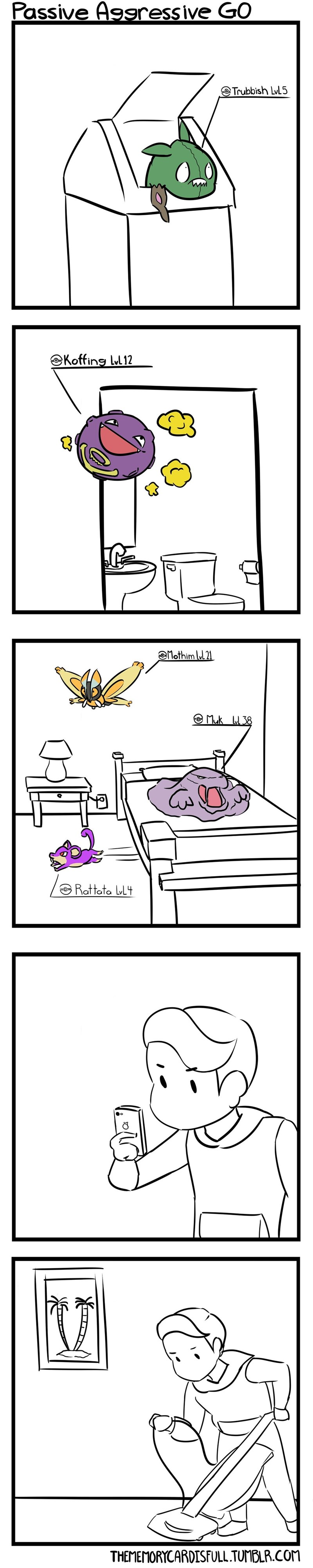 pokemon memes passive aggressive go