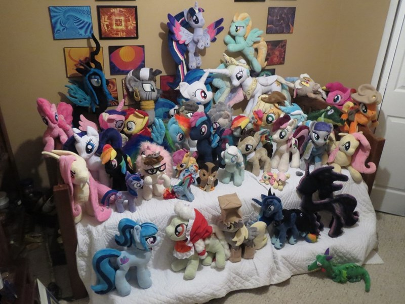 collection Plushie brony MLP - 8565756928