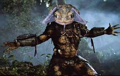 photoshop battle toad eating a bat