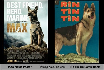 MAX Movie Poster Totally Looks Like Rin Tin Tin Comic Book