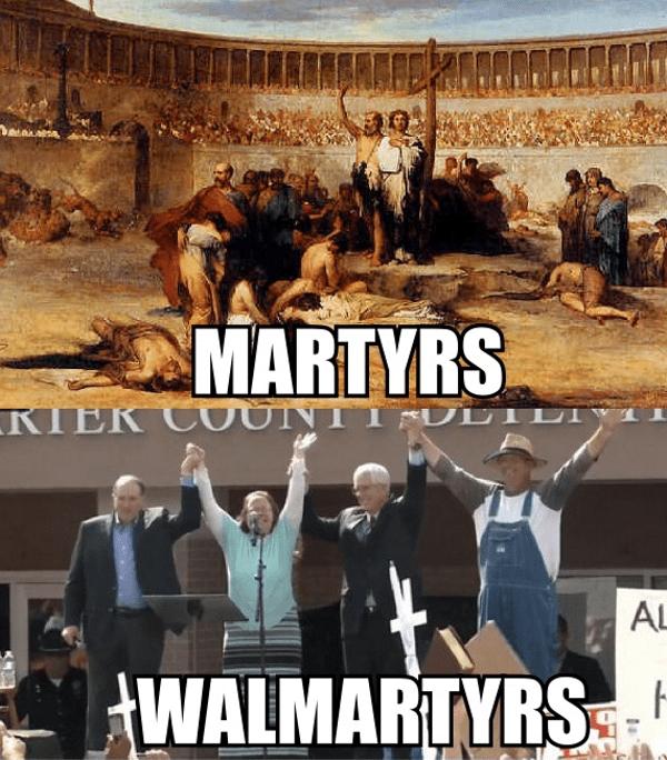 funny memes kim davis walmartyrs