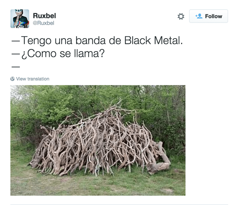 banda de black metal