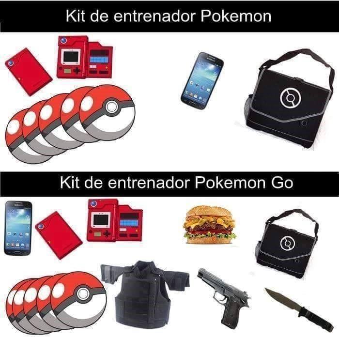 kit entrenador pokemon go