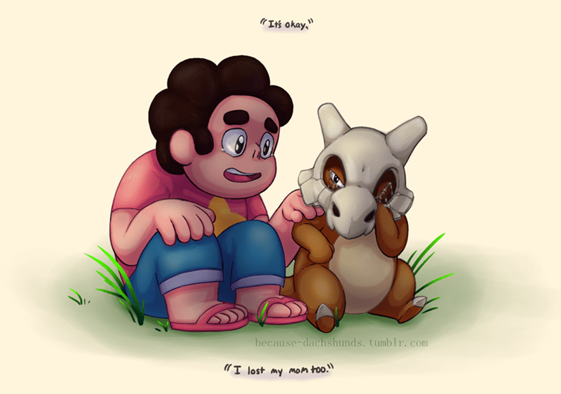 Pokémon cubone feels cartoons steven universe - 8566097408