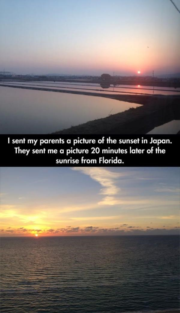 sunrise,scenic moment,sunset,win,parents