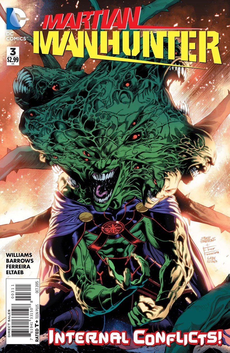 Straight off the Page martian manhunter - 8566334464