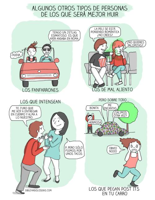 tipos de tipos a evitar