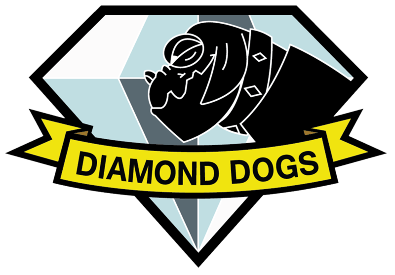 diamond dogs awesome MLP metal gear - 8566609152