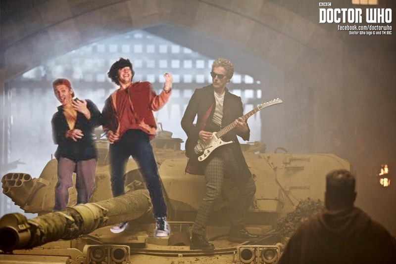 wyld stallyns,mashup,doctor who,bill and ted