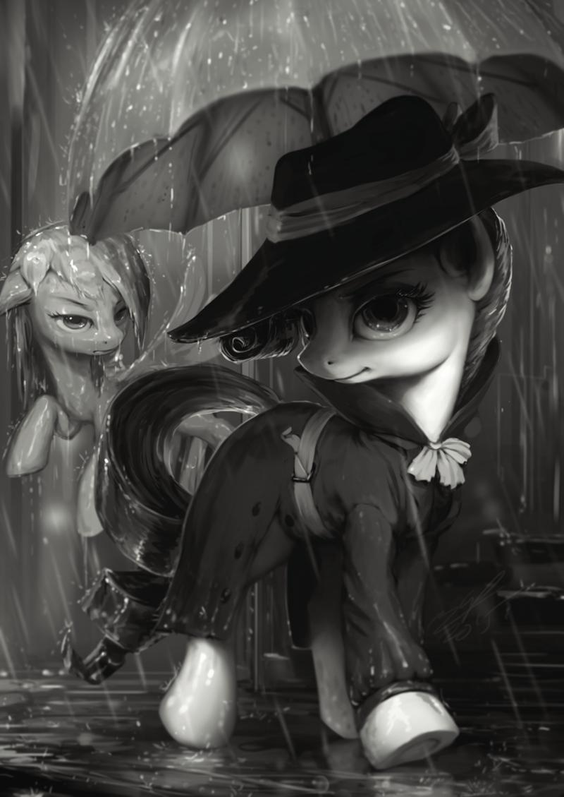 detective noir Fan Art rarity - 8567101952