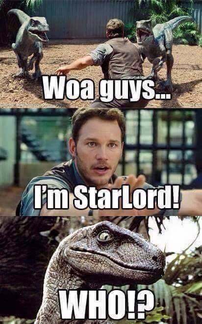 superheroes-guardians-of-the-galaxy-marvel-chris-pratt-star-lord-jurassic-world-meme