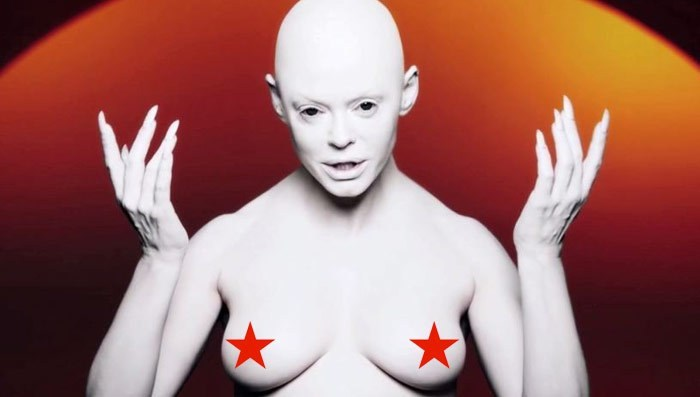 Rose McGowan releases a terrifying music video.
