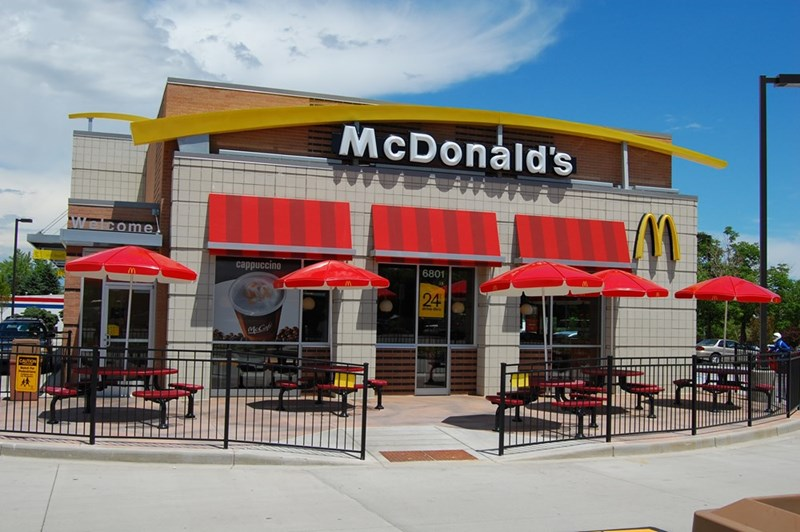 McDonald's will let you get reservations and be waited on in some Sweden locations.