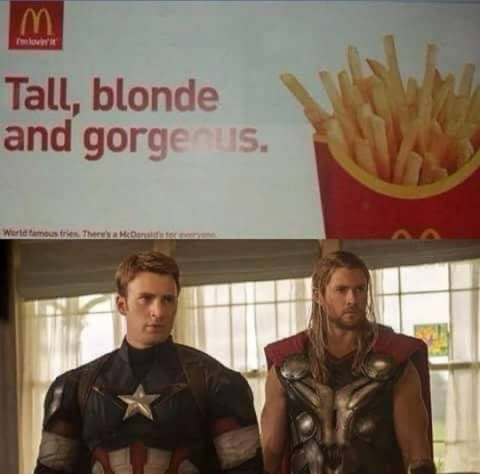 superheroes-captain-america-thor-marvel-mcdonalds-french-fry-meme