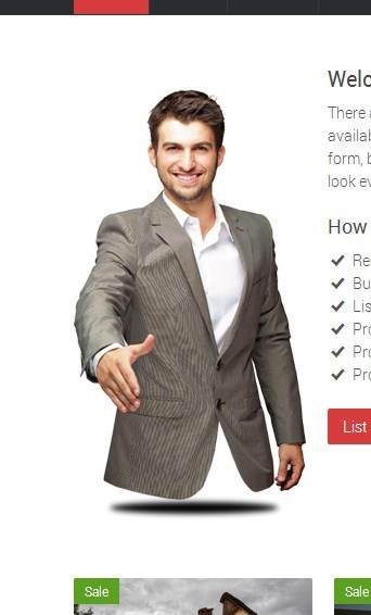 design fail of a legless torso of a man hovering in the air