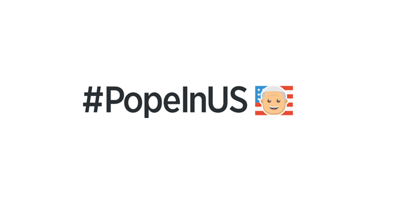 Honorific of the Day: Twitter Welcomes the Pope to America by Making