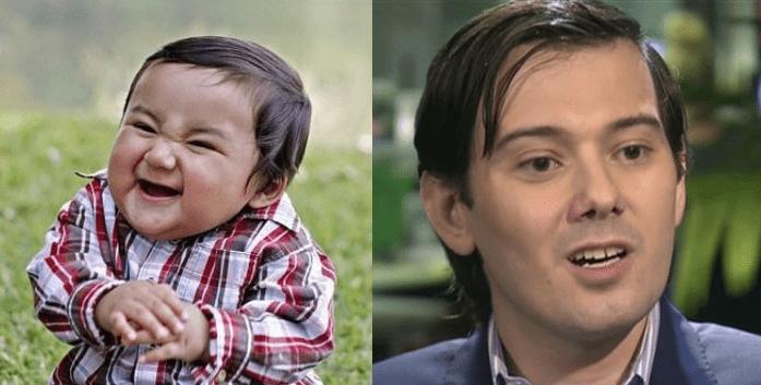funny memes martin shkreli looks like evil baby