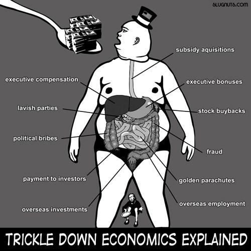 funny-web-comics-trickle-down-economics-explained
