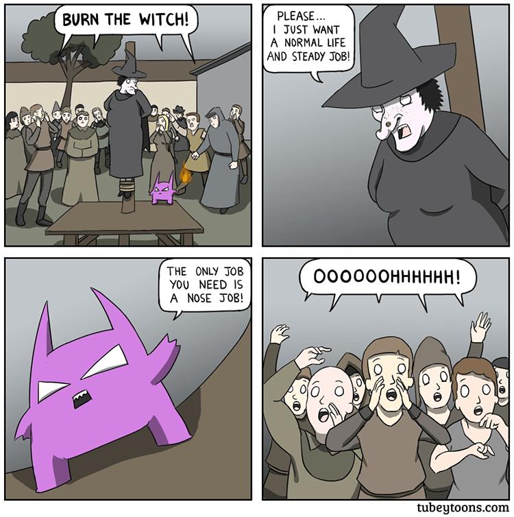 funny-web-comics-burn-the-witch