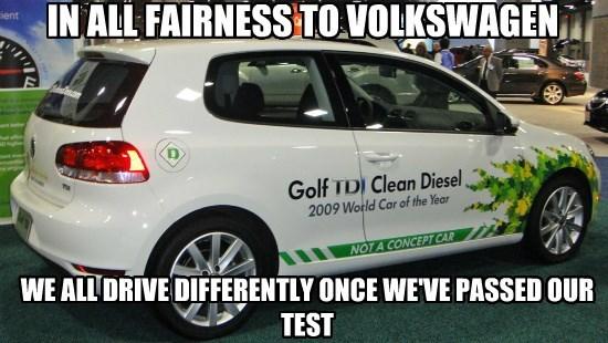 Congratulations VW