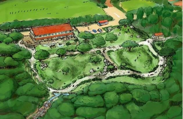 hayao miyazaki opening childrens nature park