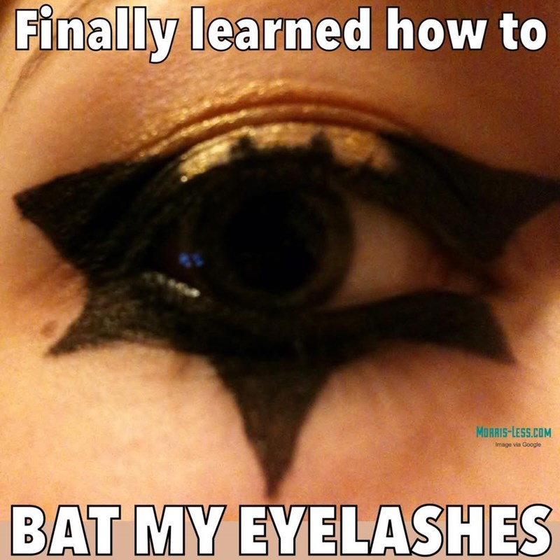 makeup,puns,batman