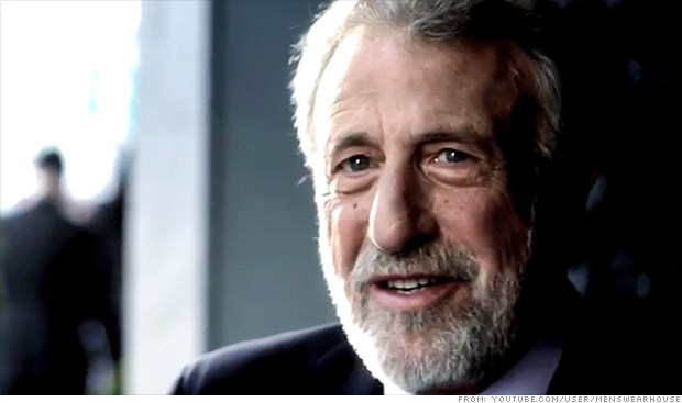 George Zimmer comes out in favor of marijuana legalization.