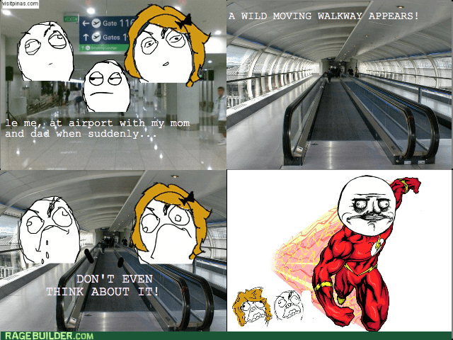 airport,walkway,running,the flash