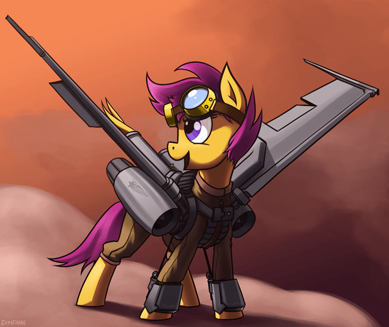 chicken wings Fan Art Scootaloo - 8568343296