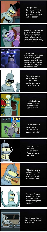 Bender es un loquillo