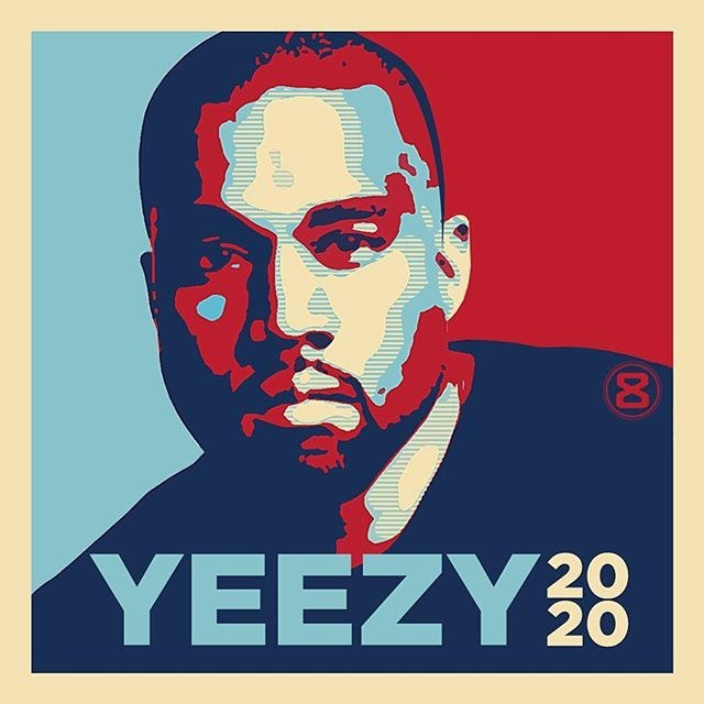 Kanye West told Vanity Fair that he's seriously thinking of a 2020 presidential run.
