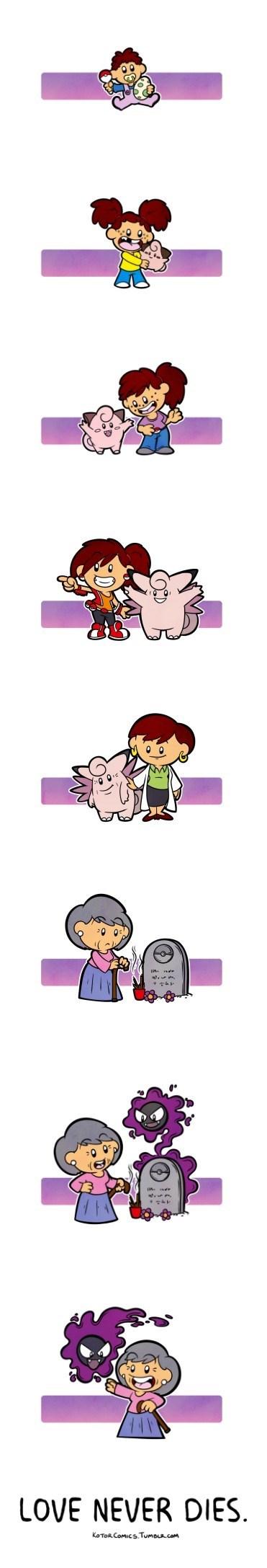 pokemon memes love never dies