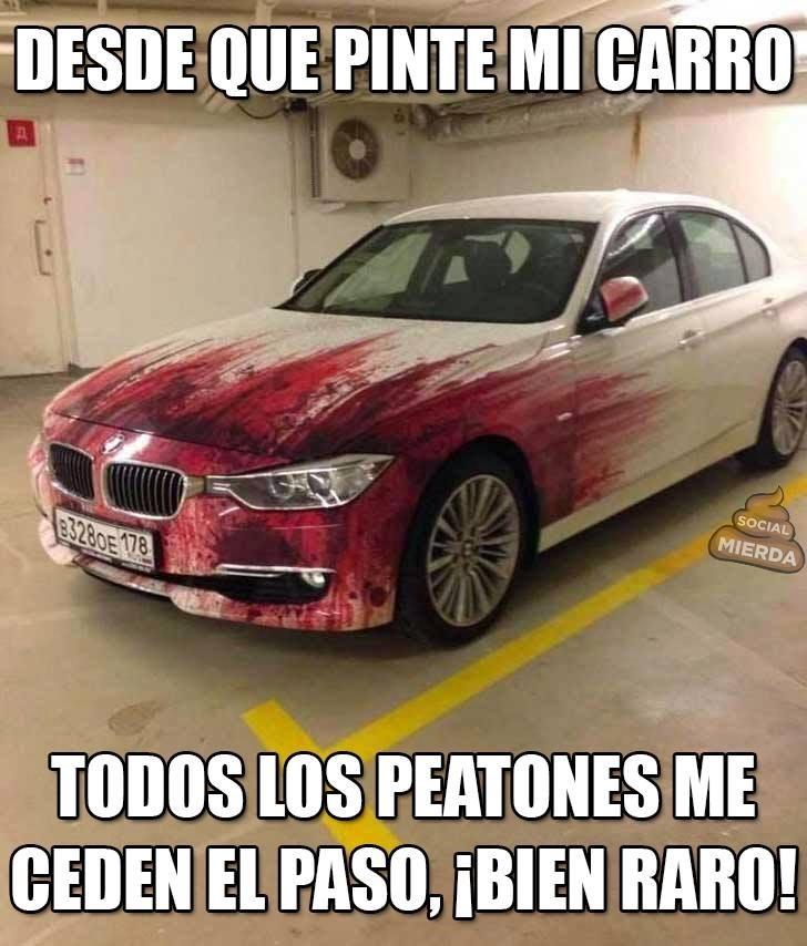 pintar el auto