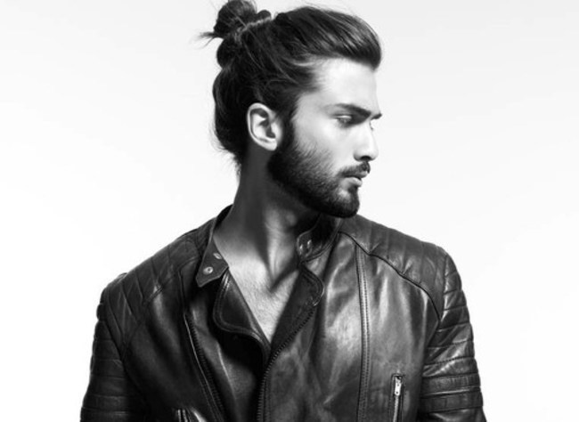 Your man buns will make you go bald, son.
