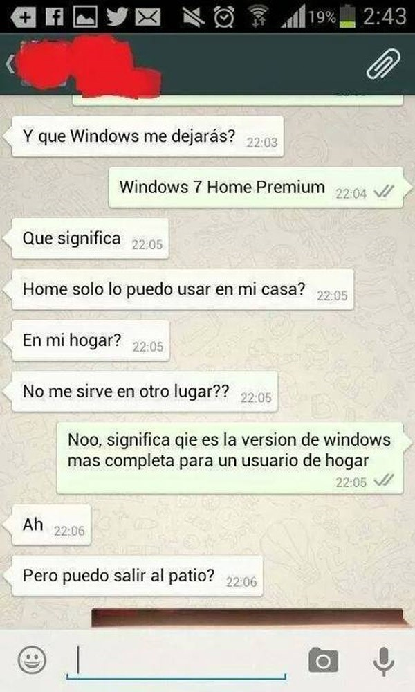 que windows me dejas