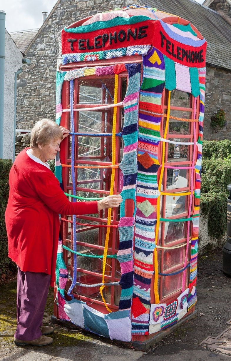 Grace Brett is the yarn bomber Scotland needs.