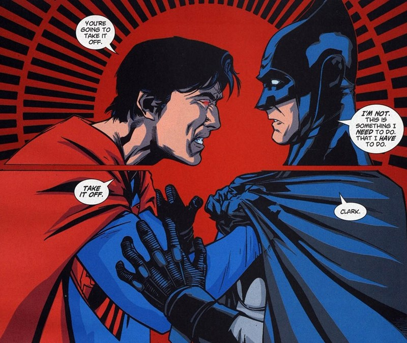Straight off the Page batman superman - 8568873728