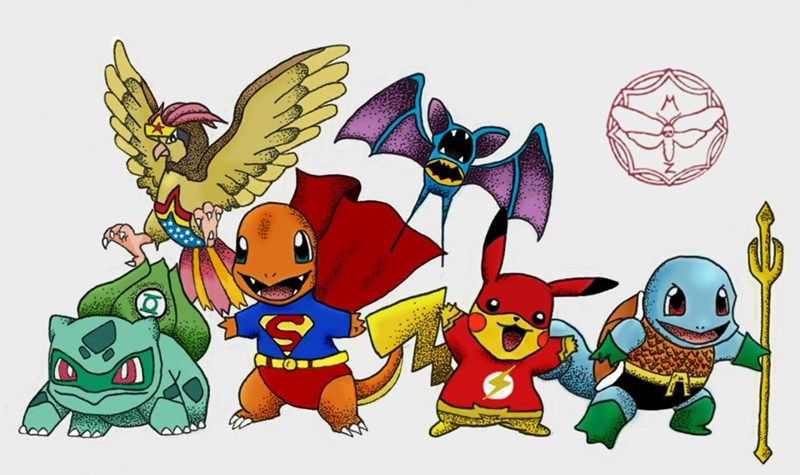 pokemon memes justice league