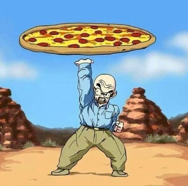 breaking bad Dragon Ball Z pizza - 8568877568