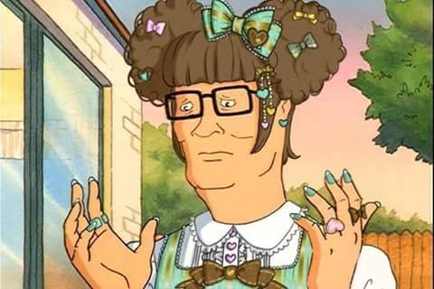 cartoon memes king of the hill hank weeaboo