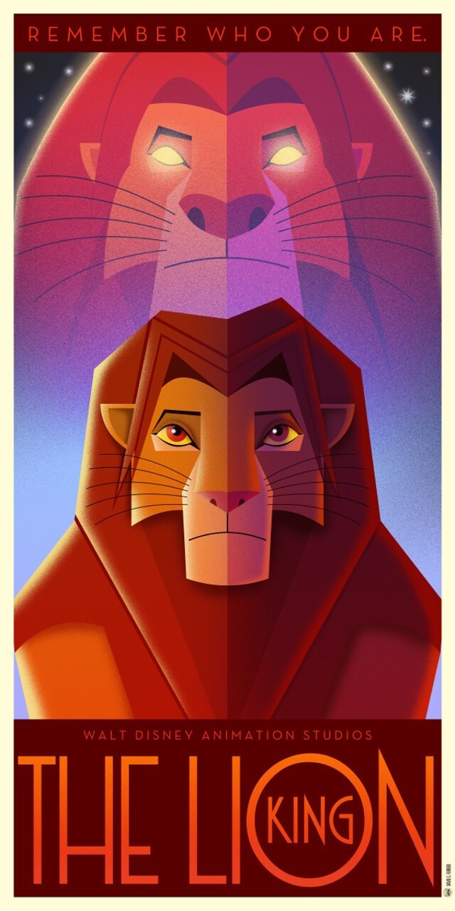 Poster - REMEMBER WHO YOU ARE. WALT DISNEY ANIMATION STUDIOS THE LIN KING