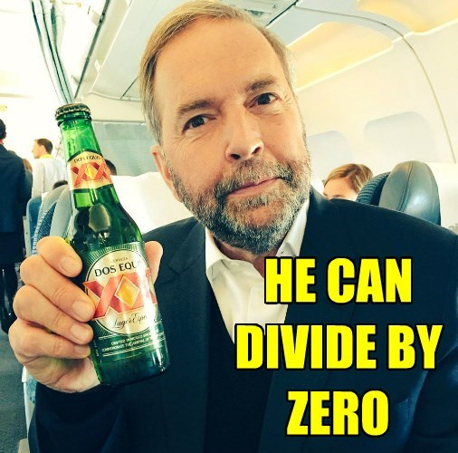 HE CAN DIVIDE BY ZERO