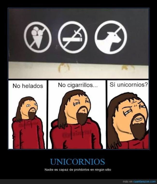 nadie prohibe unicornios