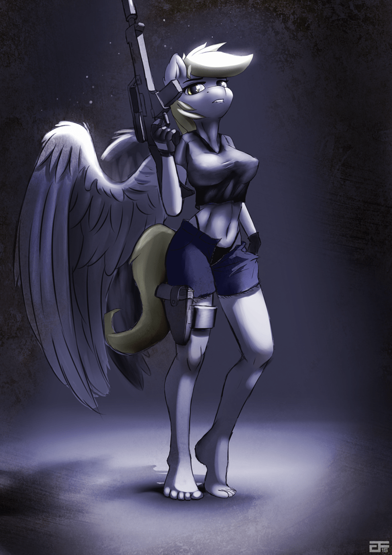 derpy hooves,Fan Art,assassin