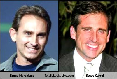 Bruce Marchiano Totally Looks Like Steve Carrell
