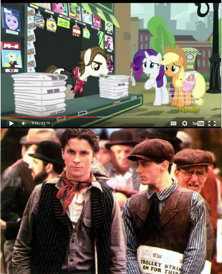 MLP christian bale reference - 8569382656